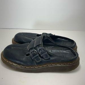 Dr. Marten Celia Maryjane Leather Mules Size 9